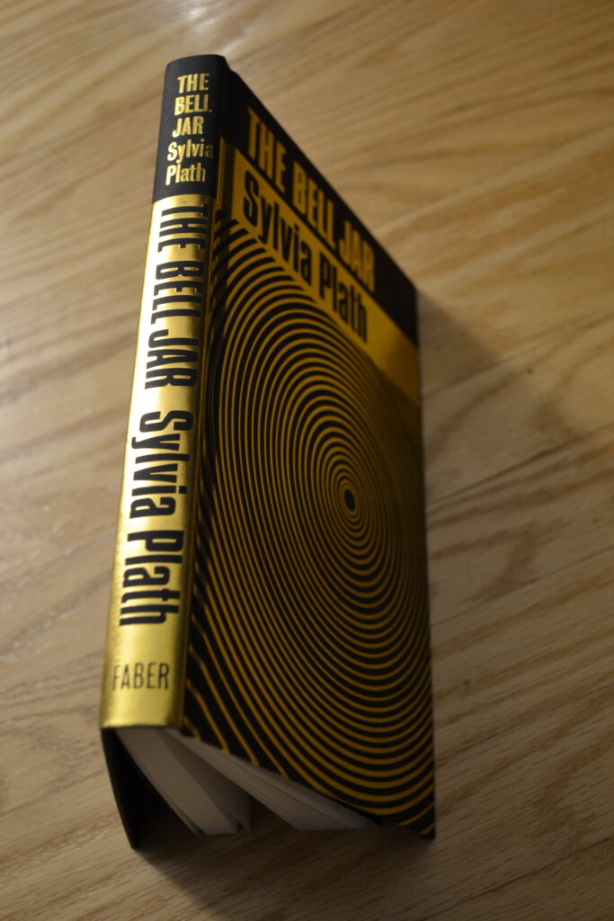 The spine of The Bell Jar.